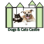 Dogs and Cats castle Logo